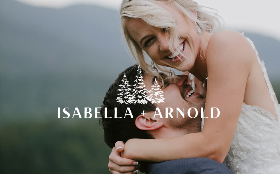 Wedding young love couple